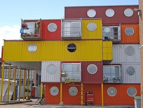 La mia casa in un container ecologia - Casa container italia ...
