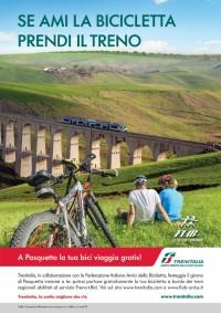gita ecologica, bici + treno