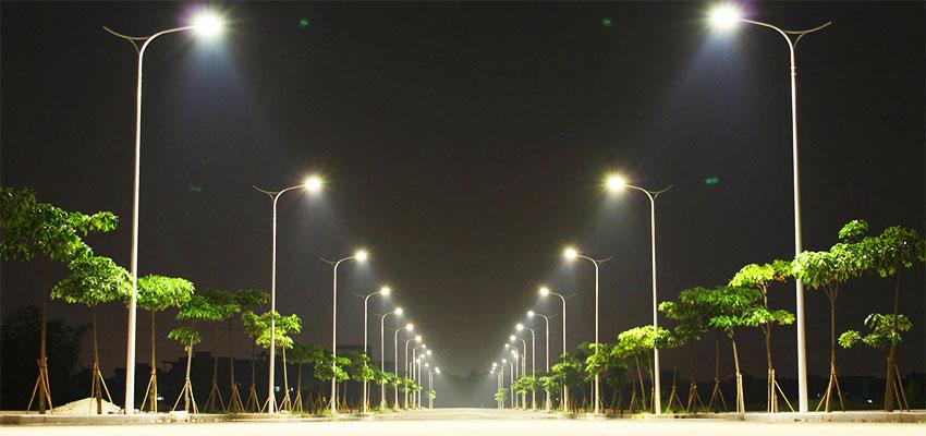 Una citta ecologica ecologia for Illuminazione per esterni led