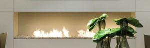 Caminetto ecologico della collezione Etilfire, firmato A-FIRE